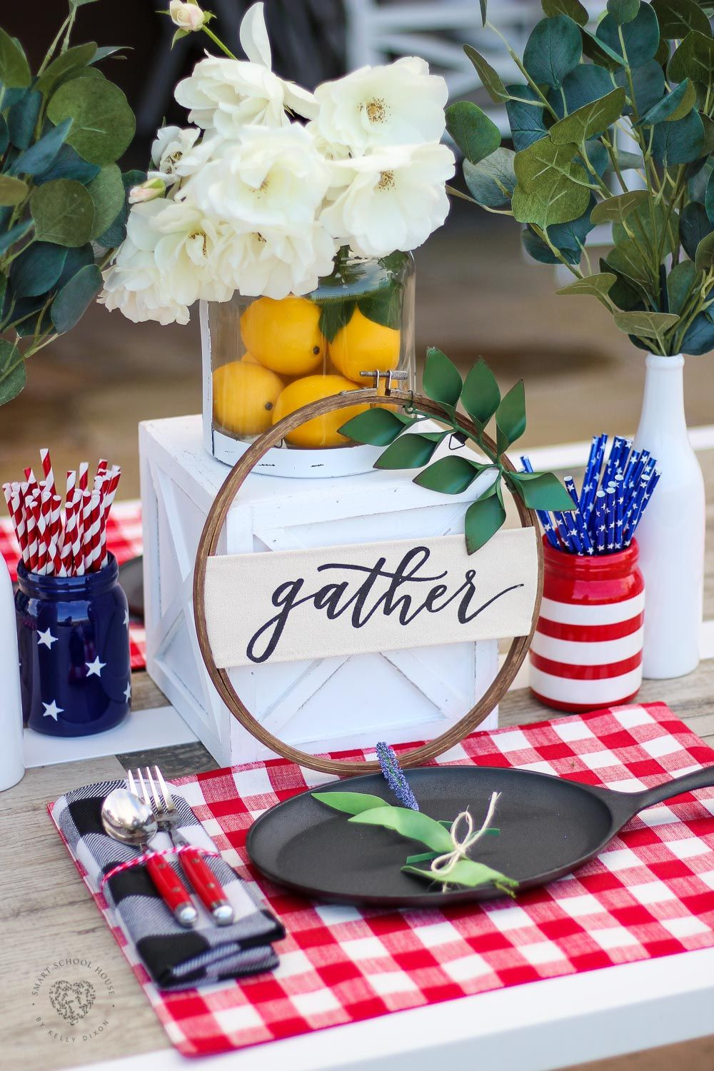 Red White And Blue Table Decorations Ultimate Diy Board