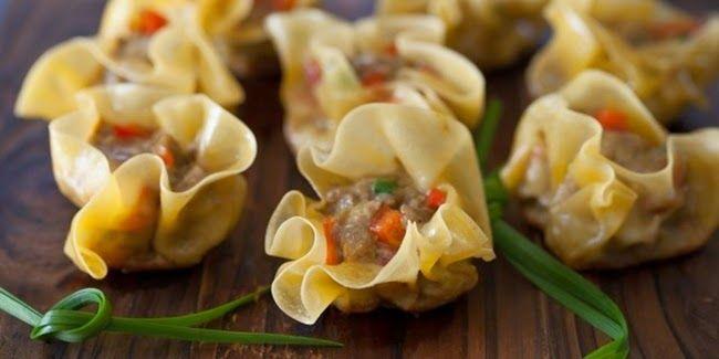 Resep Dumpling Isian Daging Bumbu Kari Albarrunews Makanan Cemilan Resep Daging Sapi