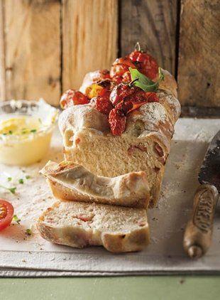 Tomato and basil bread
