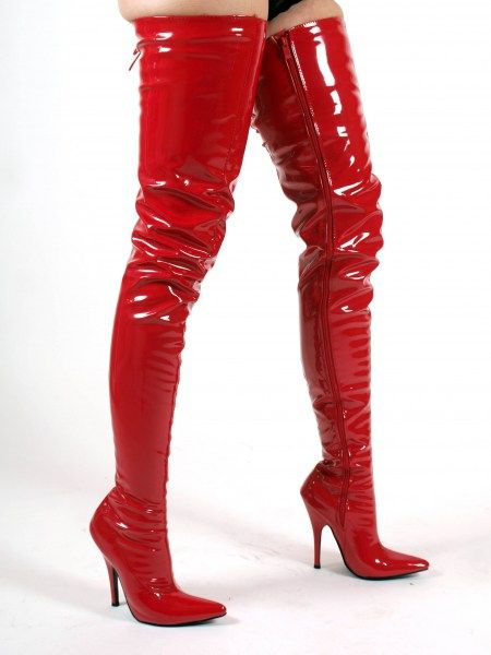 Overknee Stiefel extra lang