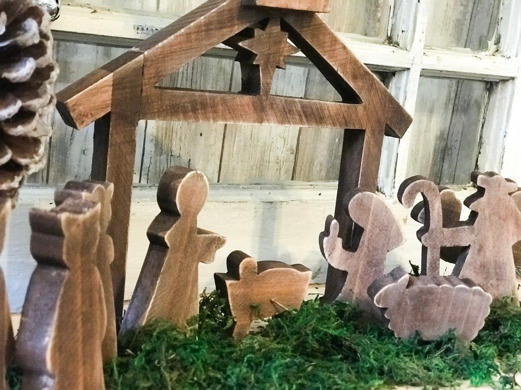 diy wooden nativity scene makeover Wooden diy, Diy
