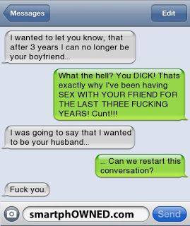 The Web Babbler: Funny Texts #91