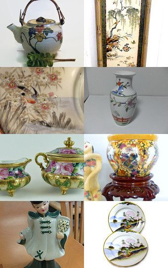 Asian Flair - Teamvintageusa by Kathy on Etsy--Pinned with TreasuryPin.com