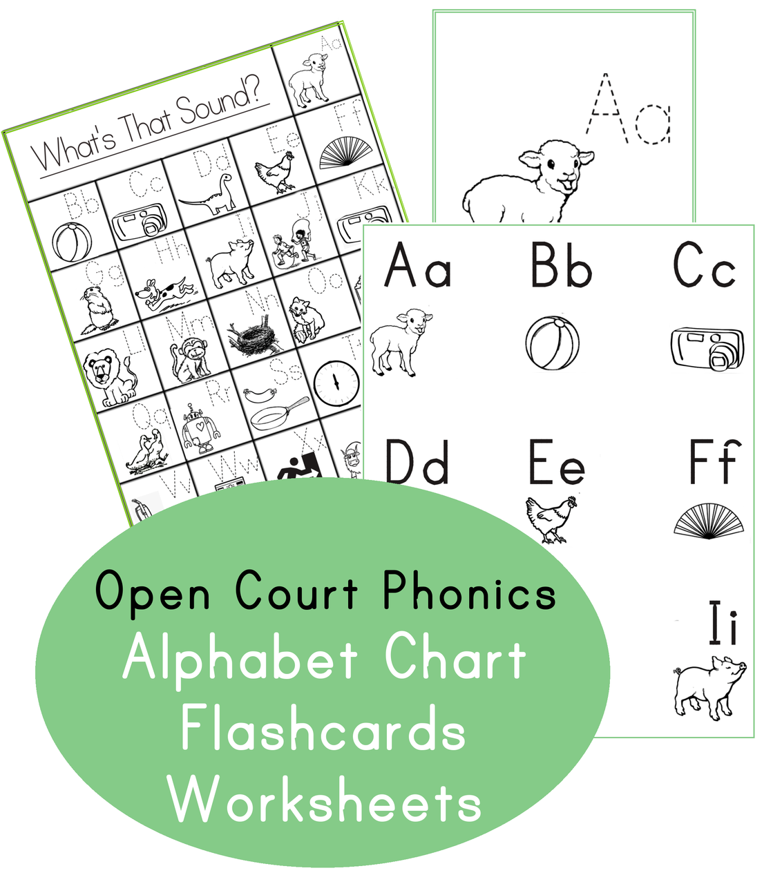 Open Court Phonics What S That Sound Chart And Flashcard Printables Open Court Reading Phonics Phonics Kindergarten