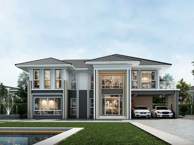 Pin By Picha Mbf On Home Idea Dream House Plans House Extension Design House Front Design