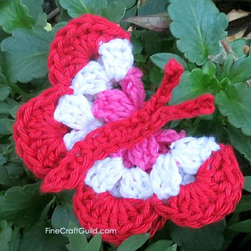 Crochet Butterfly Free Pattern