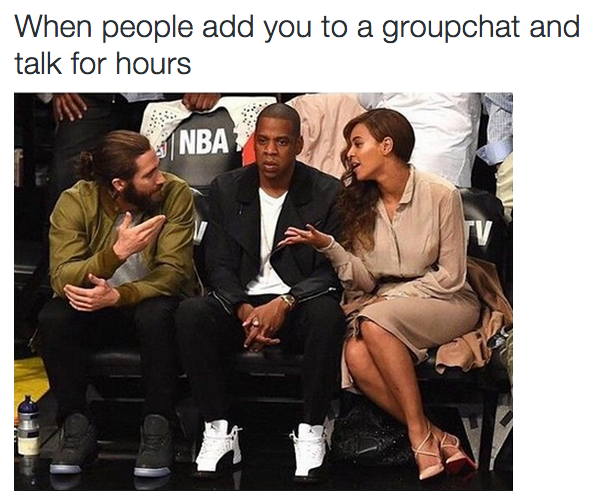 The Friend That Won T Stop Talking In The Group Chat Stupid Memes Funny Relatable Memes Funny Pictures
