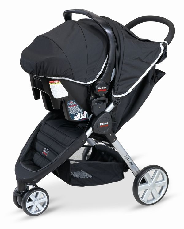 Britax B Agile Stroller And Safe Infant Car Seat Travel System