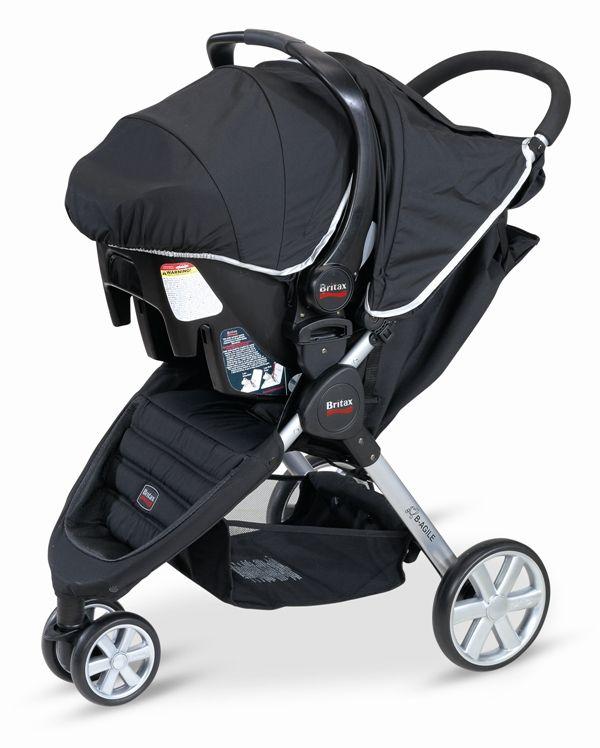 Britax B Agile Stroller And B Safe Infant Car Seat Travel System