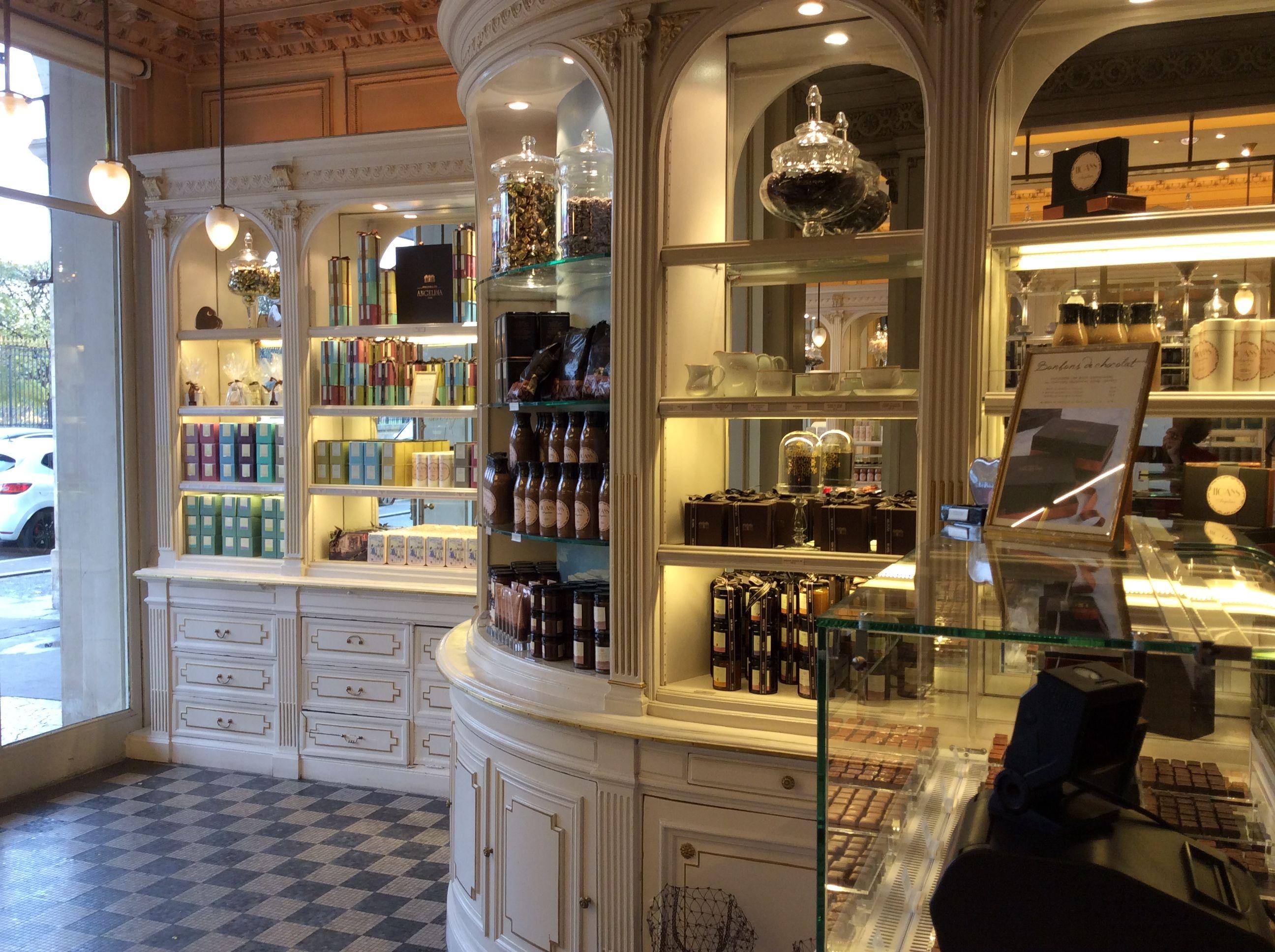 Salon de th angelina rivoli paris inspiration pour une belle boutique pinterest - Salon de the angelina paris ...
