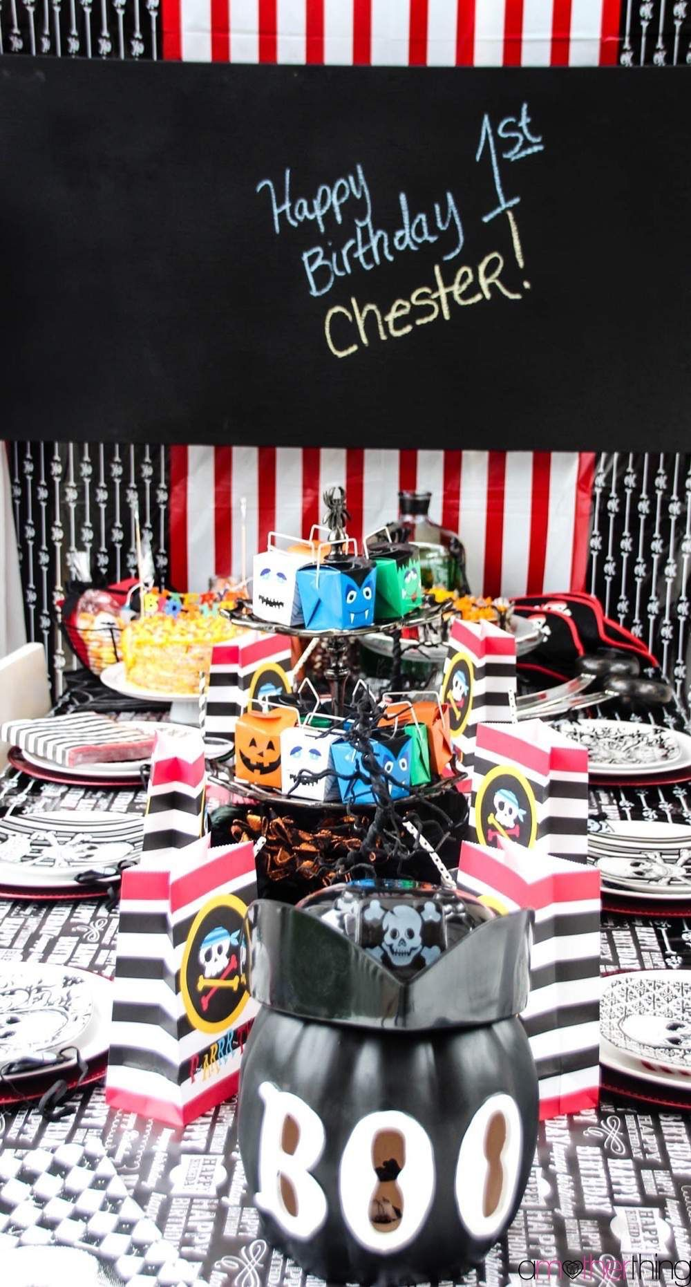 Baby's First Birthday – A Pirate Halloween Birthday Party | More ...