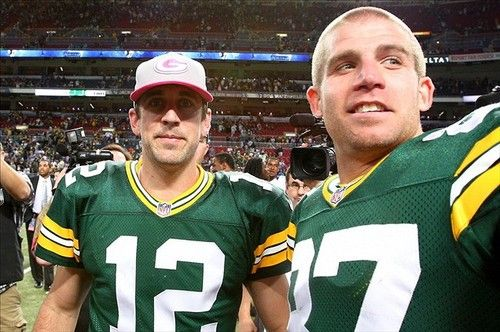Aaron Rodgers Jordy Nelson Fantasy Football Green Bay Packers