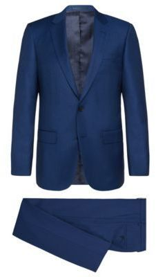 be51f201c Hugo Boss T-Harvers/Glover Slim Fit, Super 150 Italian Wool Suit 42L Blue-  7112style.website -