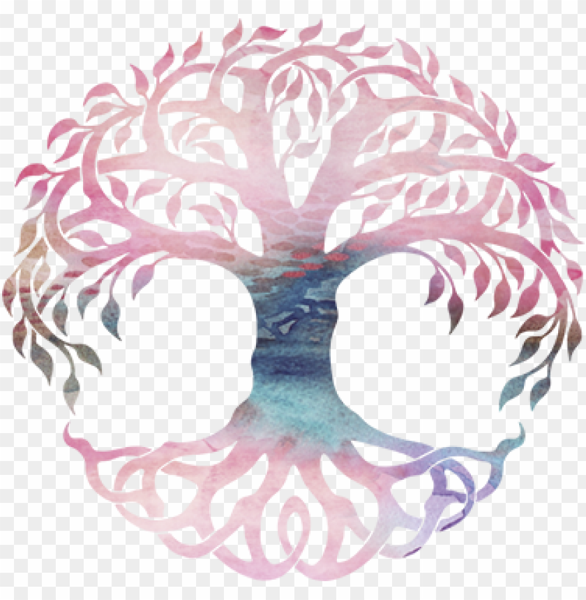 Celtic Tree Decal Draw A Tree Of Life Png Image With Transparent Background Png Free Png Images Celtic Tree Tree Decals Tree Of Life