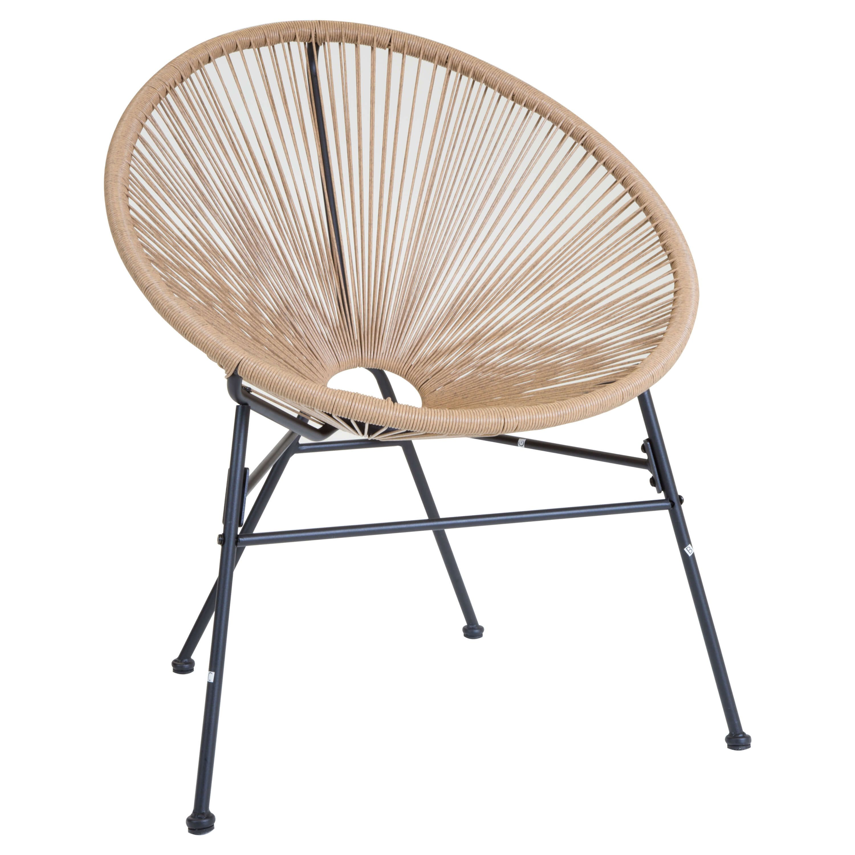 These Funky Round Retro Lounge Chairs Provide Comfort When Lounging In The  Garden. Made From