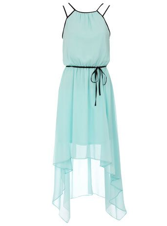Dorothy Perkins  Aqua maxi dress