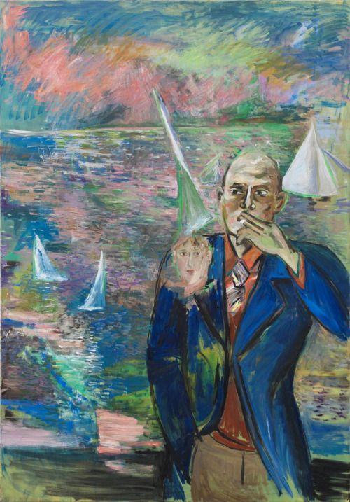 Amelie von Wulffen (German, b. 1966), Untitled, 2013. Oil on canvas, 200 x 140 cm.