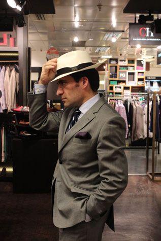 El sombrero Panama... clásico 5d169c468b4
