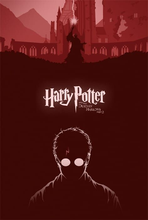 You Have To See These Fan Made Harry Potter Posters Harry Potter Poster Harry Potter Art Harry Potter Deathly Hallows