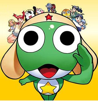 Sukiya has Sgt. Frog toys right now.  My kiddos are making them hop as I type. :D