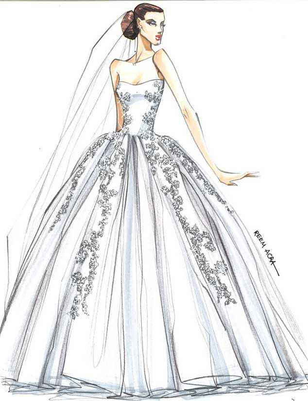 vestidos en dibujos de novia - buscar con google | diseño, patrones