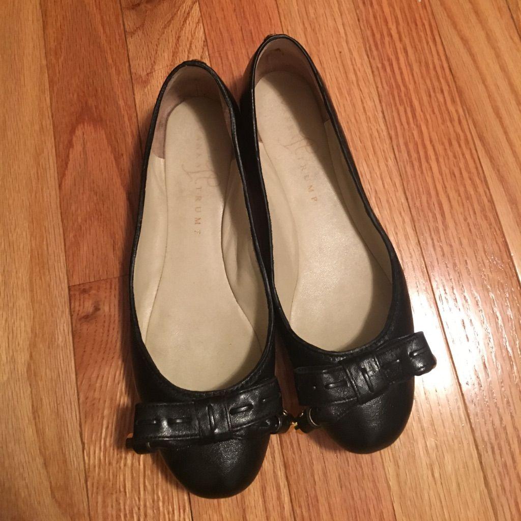 Ivanka Trump Leather Ballet Flats Size 7