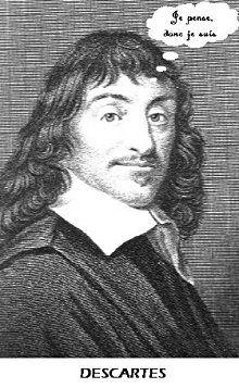 Je Suis Donc Je Pense : pense, Pense,, Suis., René, Descartes, Extrait, Discours, Méthode, Culture, Teaching, Culture,