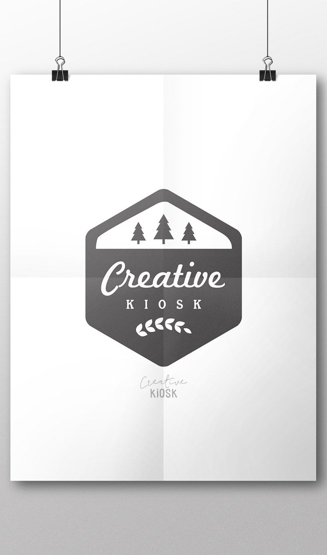 rustic logo stamp logo tree logo diy watermark business logo