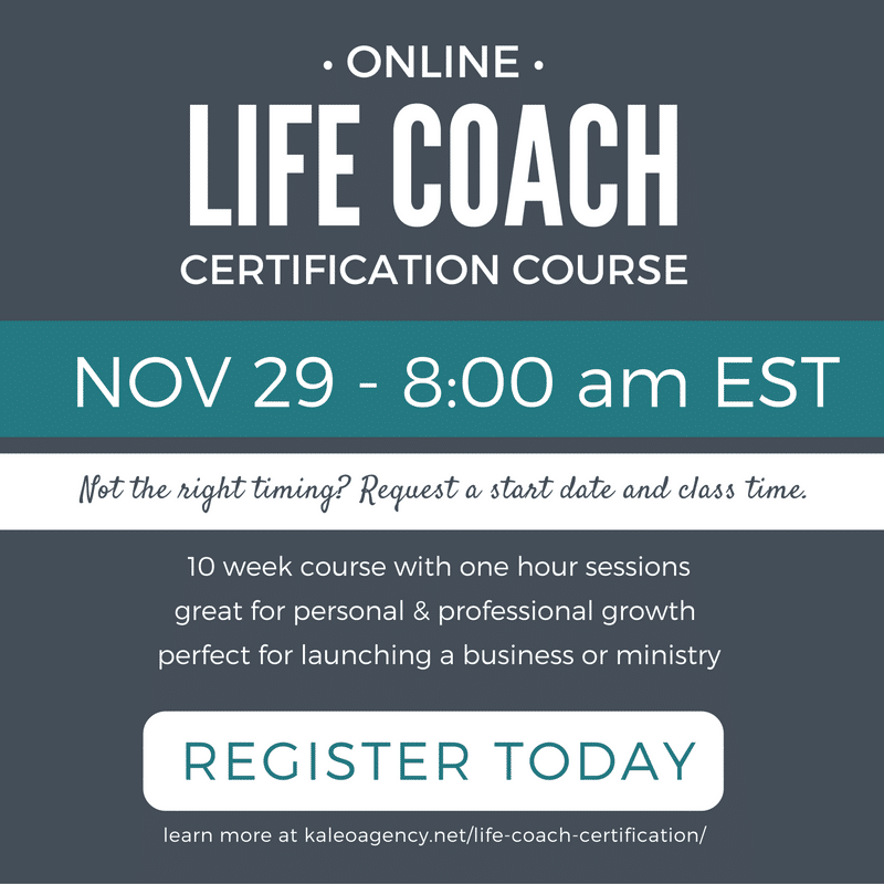 Sign Up For The Next Life Coach Certification Course And Begin Your
