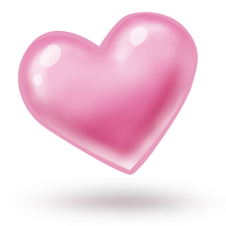 Pink Heart Icon Download Colobrush Icons Pink Heart Heart Icons Pink