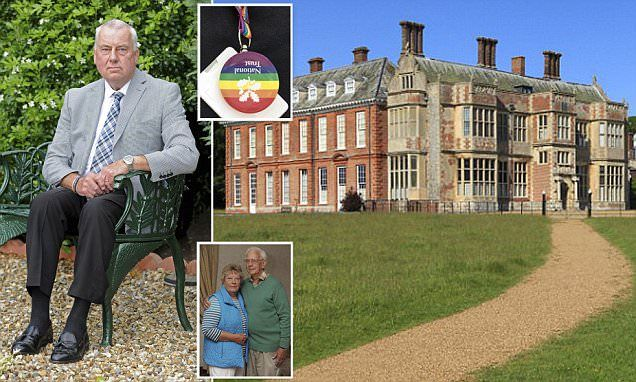 Surely a sign of Forced solidarity is no solidarity at all Dozens of National Trust volunteers quit over Gay Pride badge scandal