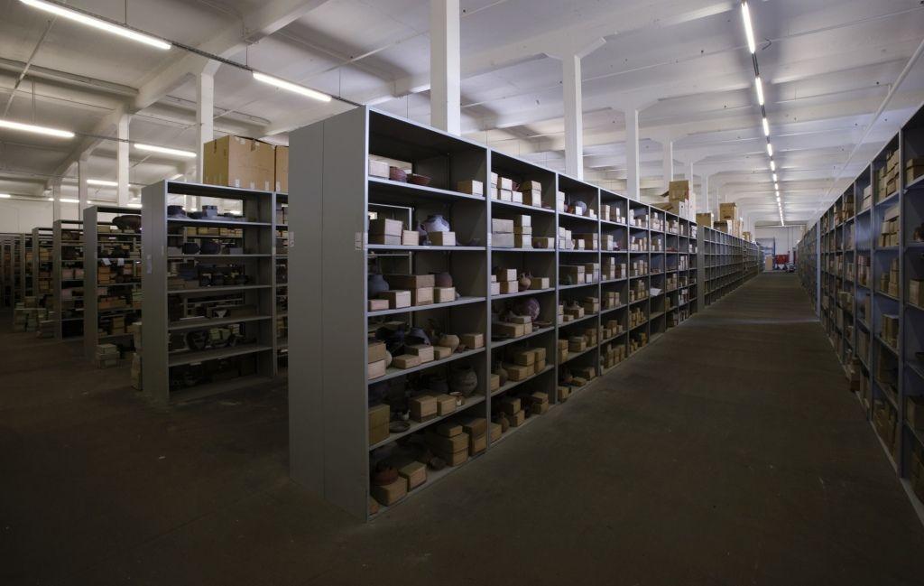 Im Depot II befinden sich hauptsächlich Fundstücke aus dem #Altertum. (c) Historisches Museum der Pfalz Speyer / Nicht zur kommerziellen Nutzung freigegeben.