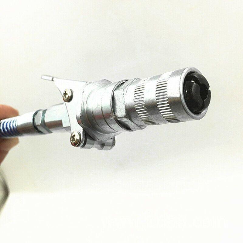 12000PSI 1//8 Grease Gun Coupler Zerk Hand Grease Coupler Fitting Quick Release