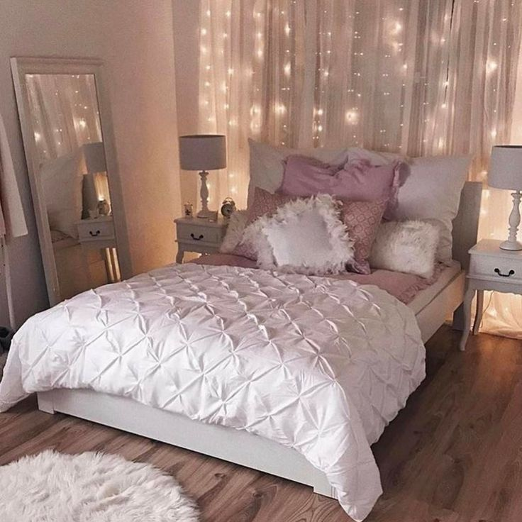 Girly bedroom  bedroom  Bedroom decor Small apartment