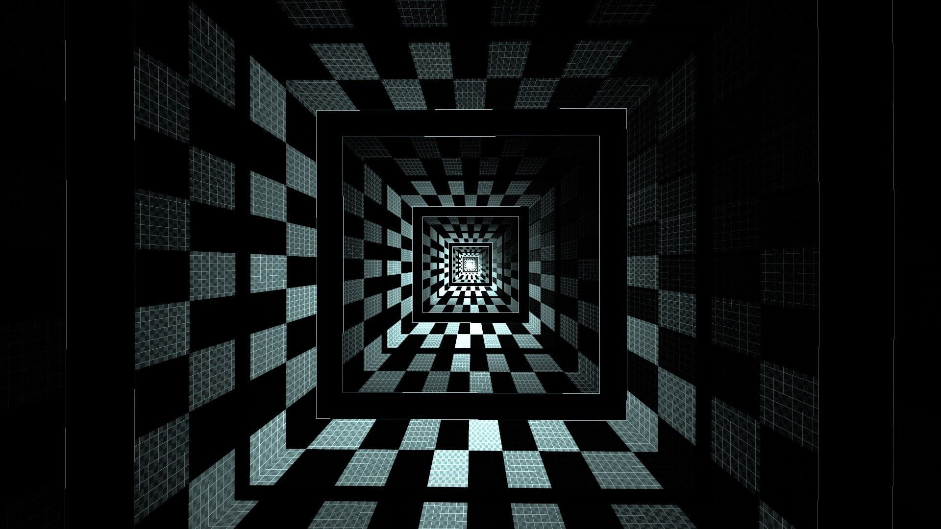 Optical Illusion Geometry Abstract Square 1080p Wallpaper Hdwallpaper Desktop Optical Illusion Wallpaper Optical Illusions Checkered Wallpaper