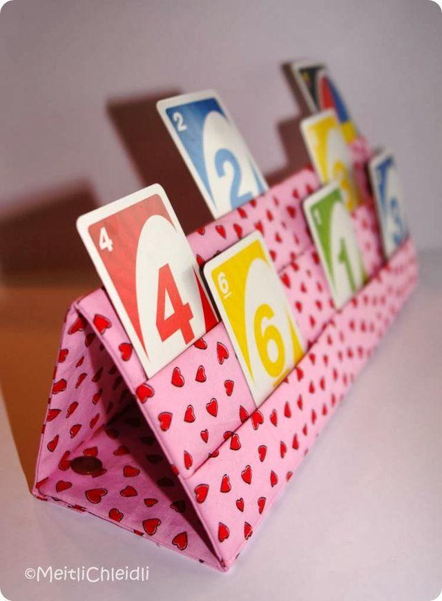 Ebook Kartenhalter Spiel, Spass & gute Laune (Probenähen für SiNiJu) (MeitliChleidli)