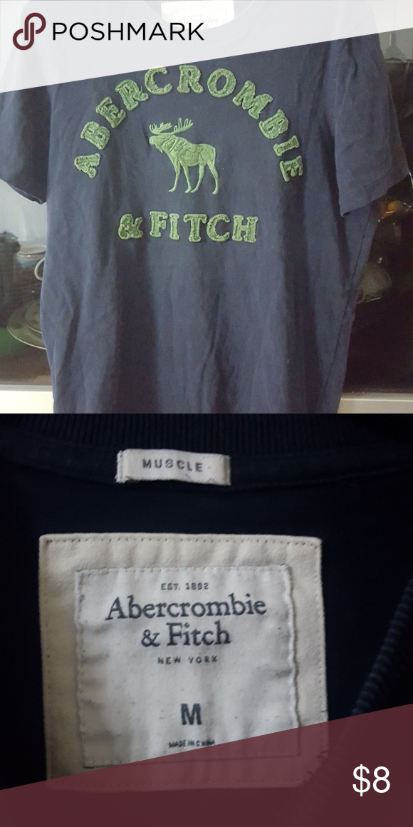 a7d1ebb9b7129 Abercrombie and Fitch medium t shirt Good condition no rips or stain pet and  smoke free