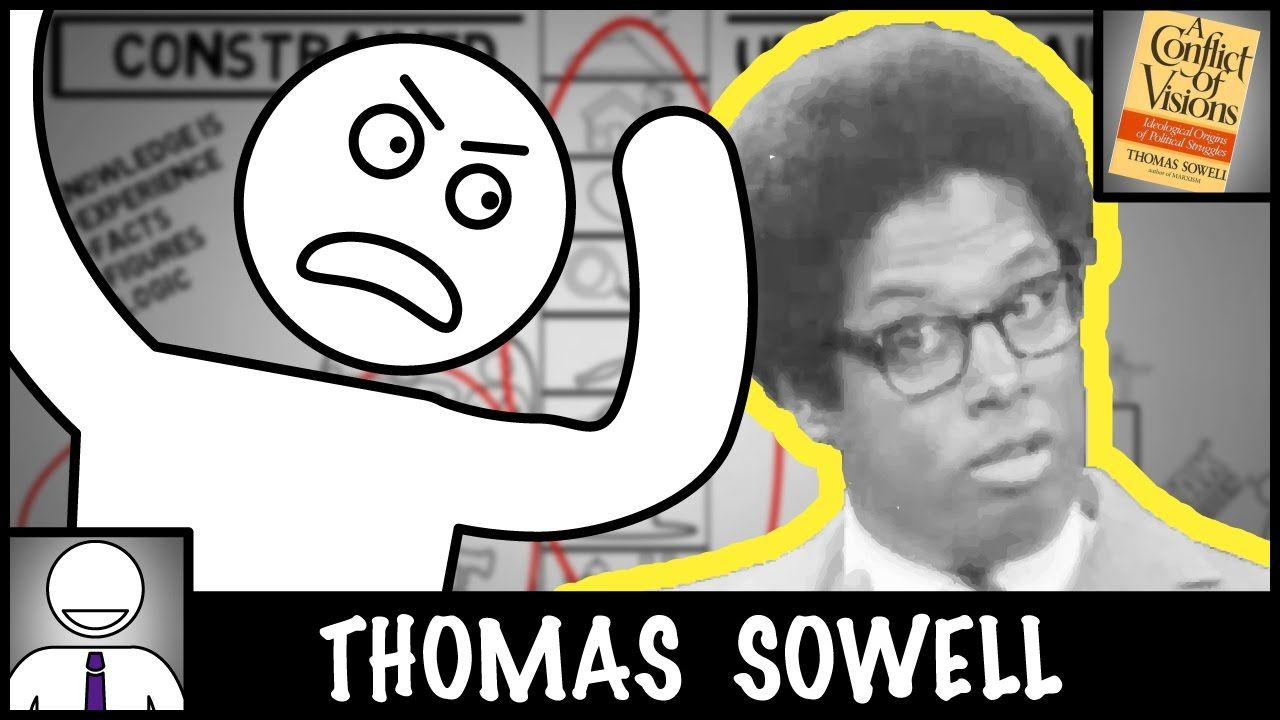 Thomas Sowell A Conflict Of Visions Animated Book Review Animated Book Book Worth Reading Book Inspiration