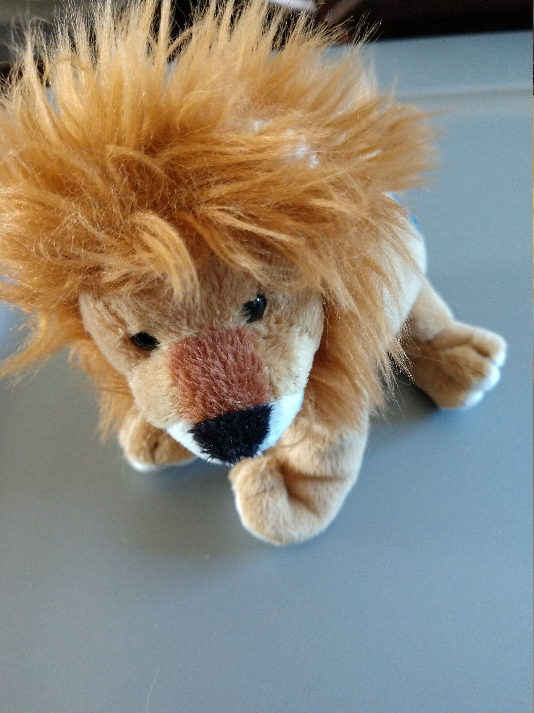 fc679f2a26f Midas the Lion - Ty Beanie Babies - 2008 by LabArcDesigns on Etsy ...