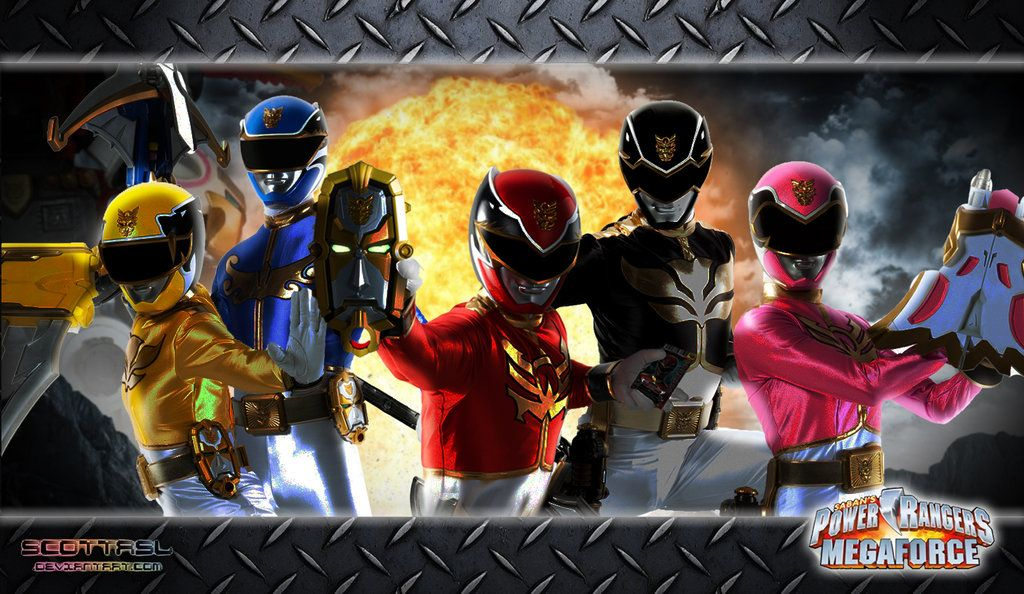 Power Rangers Megaforce Wallpaper 4 by scottasl.deviantart ...