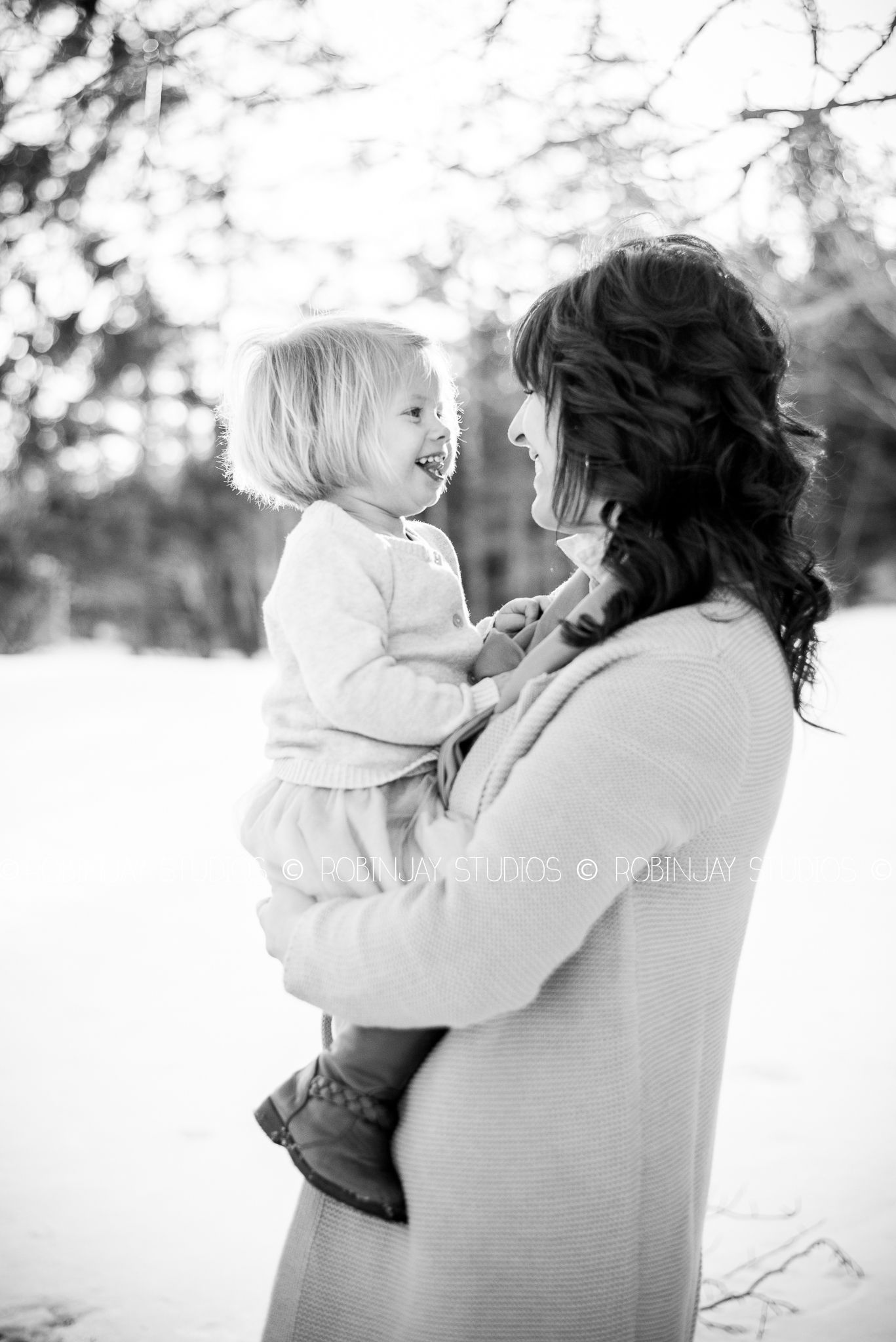 mother daughter photo session #winter #photography