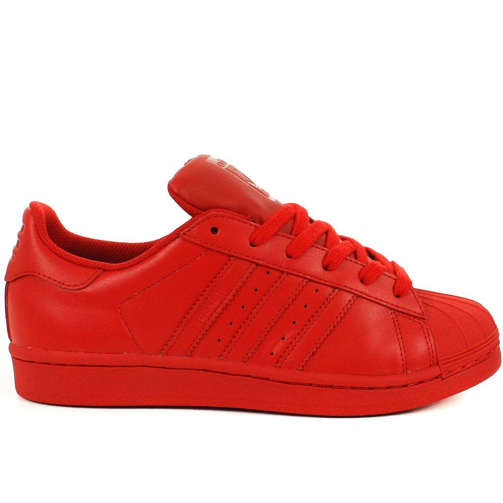 SUPERSTAR SUPERCOLOR BY PHARRELL WILLIAMS ROUGE