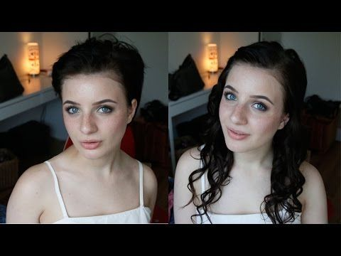 Pixie cut to messy half up 90s inspired hair tutorial youtube pixie cut to messy half up 90s inspired hair tutorial youtube pmusecretfo Image collections