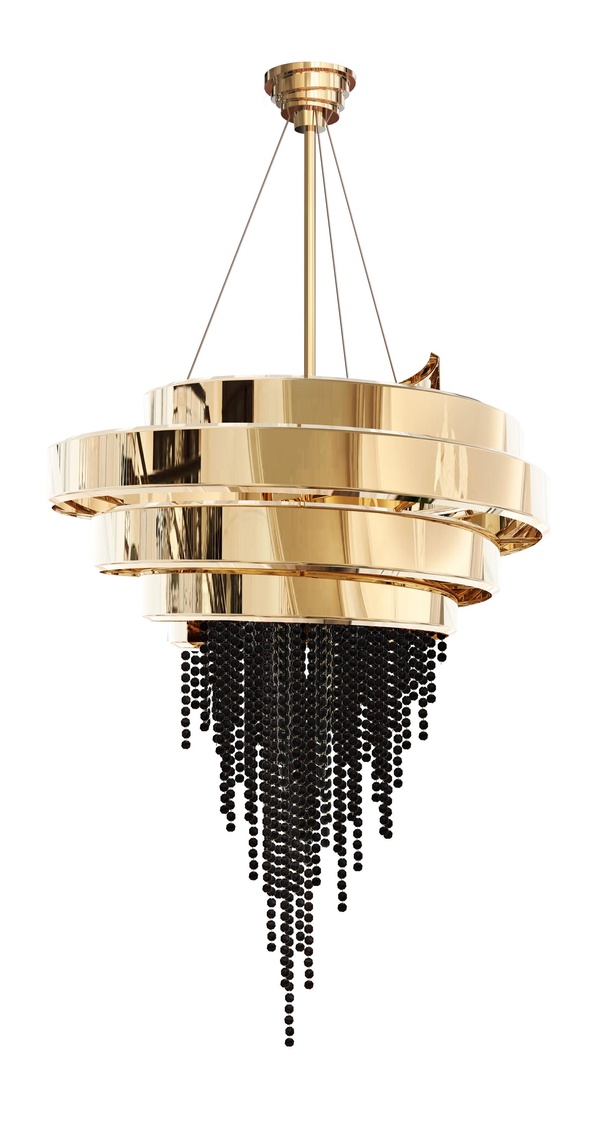 Nuevas tendencias en dise o interior revista estilo propio lamparas kronleuchter lampen y - Kronleuchter stehlampe ...