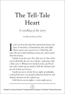 The Tell-Tale Heart: A Retelling of the Story by Edgar Allan Poe ...