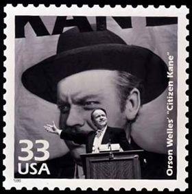 ORSON WELLES' Citizen Kane Stamp