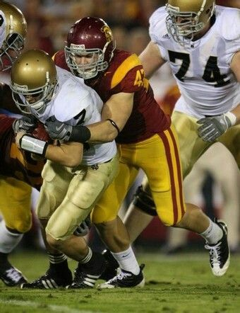 Usc Football Clay Matthews Jr Georgia Bulldogs Football Usc Football Usc Trojans Football
