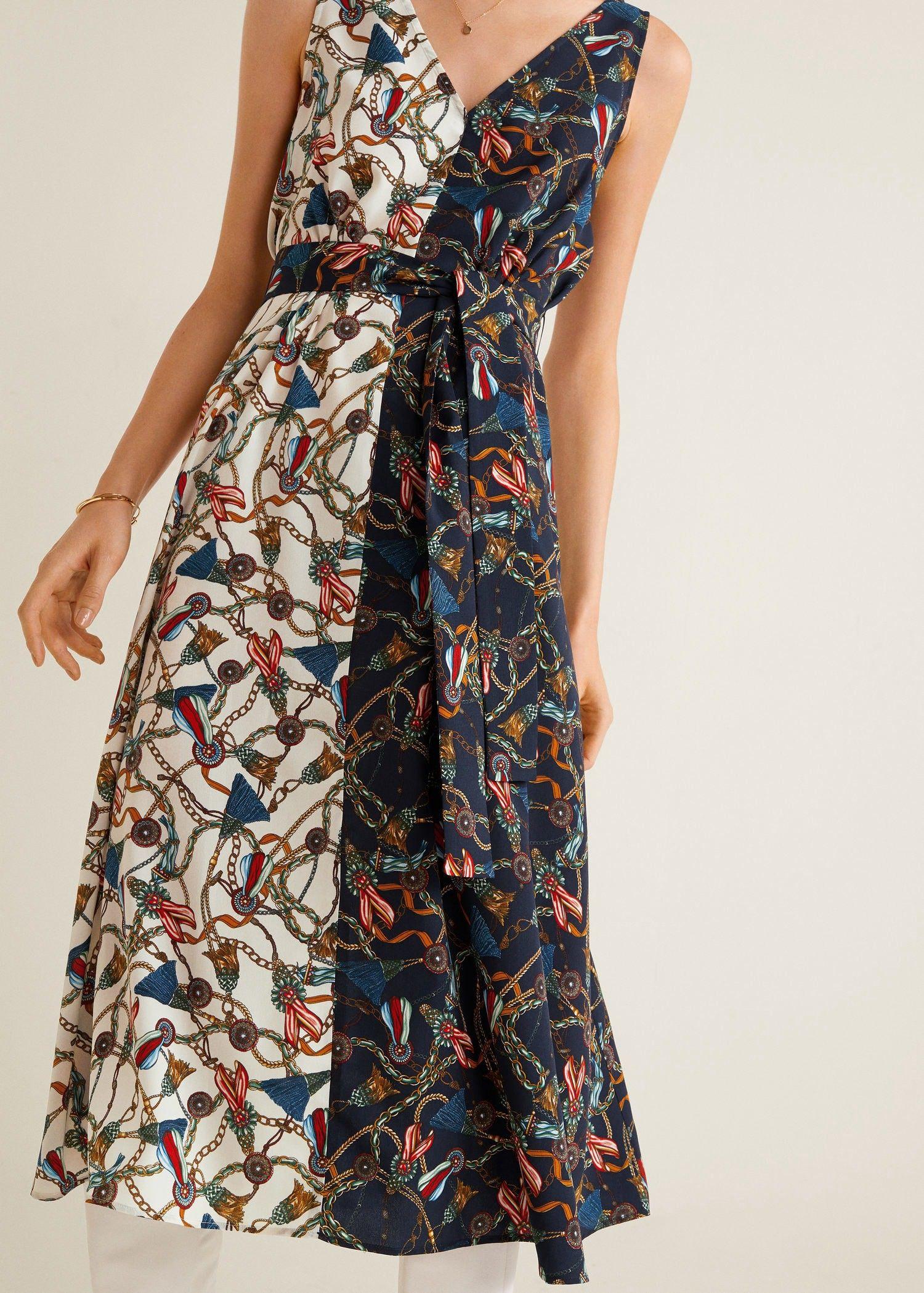 8868ed7ceb Mango Scarf Print Dress - 2 in 2019 | Products | Dresses, Fashion