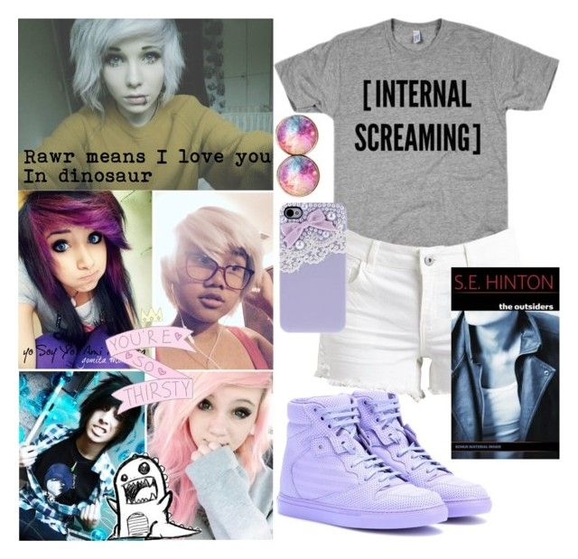 """""""Lets play spot the emo"""" by pepsicola111201 ❤ liked on Polyvore"""