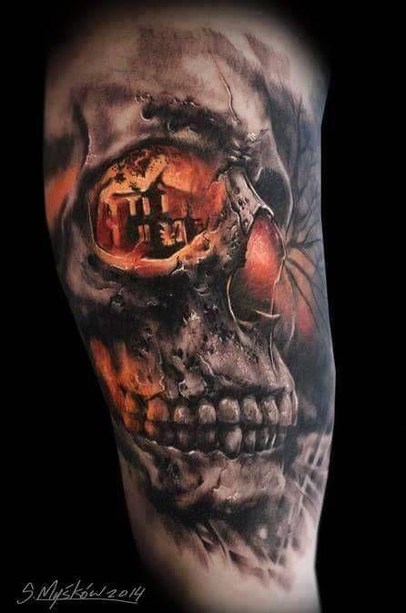 160 skull tattoos best tattoos designs and ideas tattoos pinterest totenkopf tattoos. Black Bedroom Furniture Sets. Home Design Ideas
